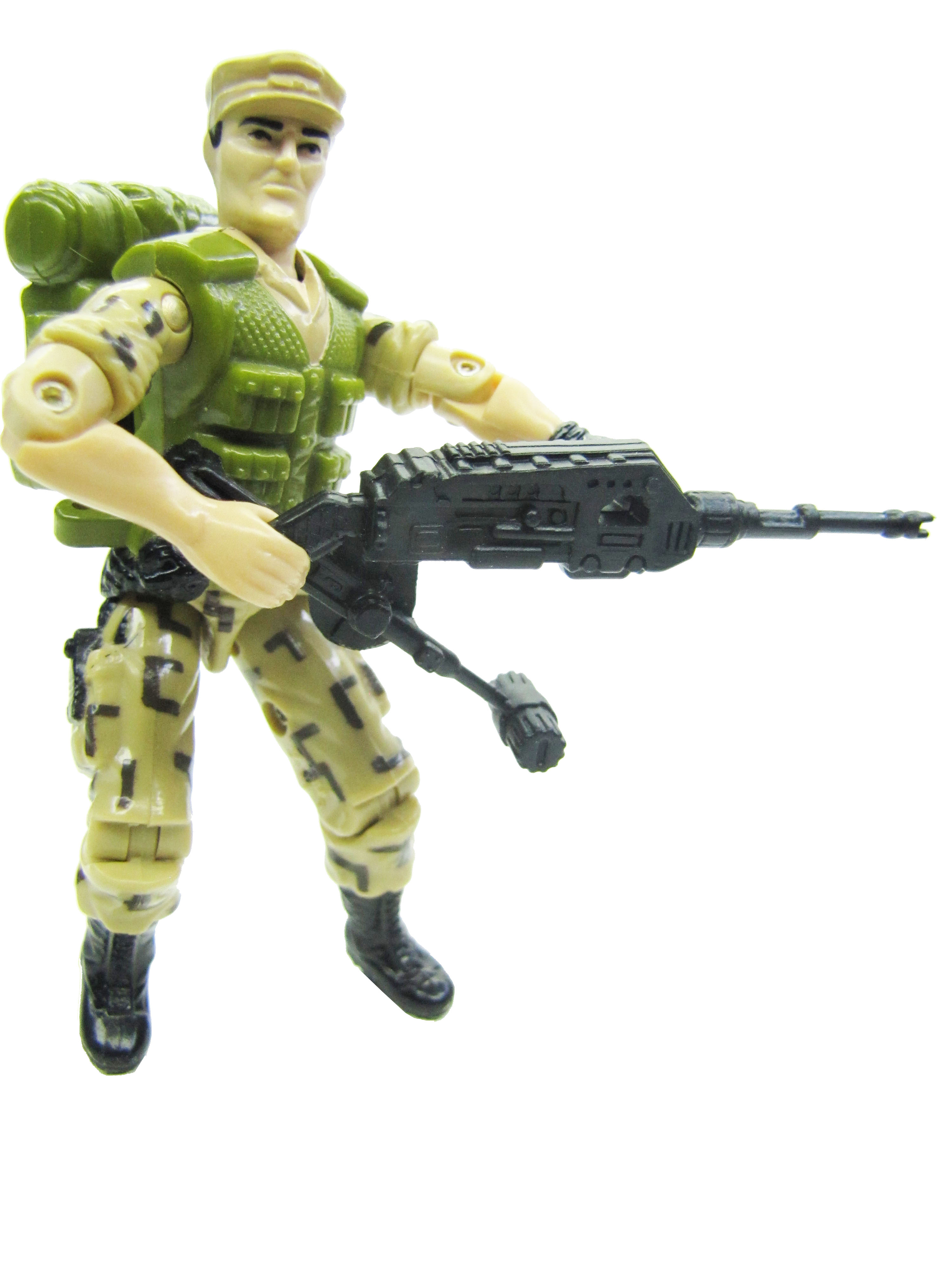 1988 GIJoe REPEATER STEADI-CAM MACHINE GUNNER Complete