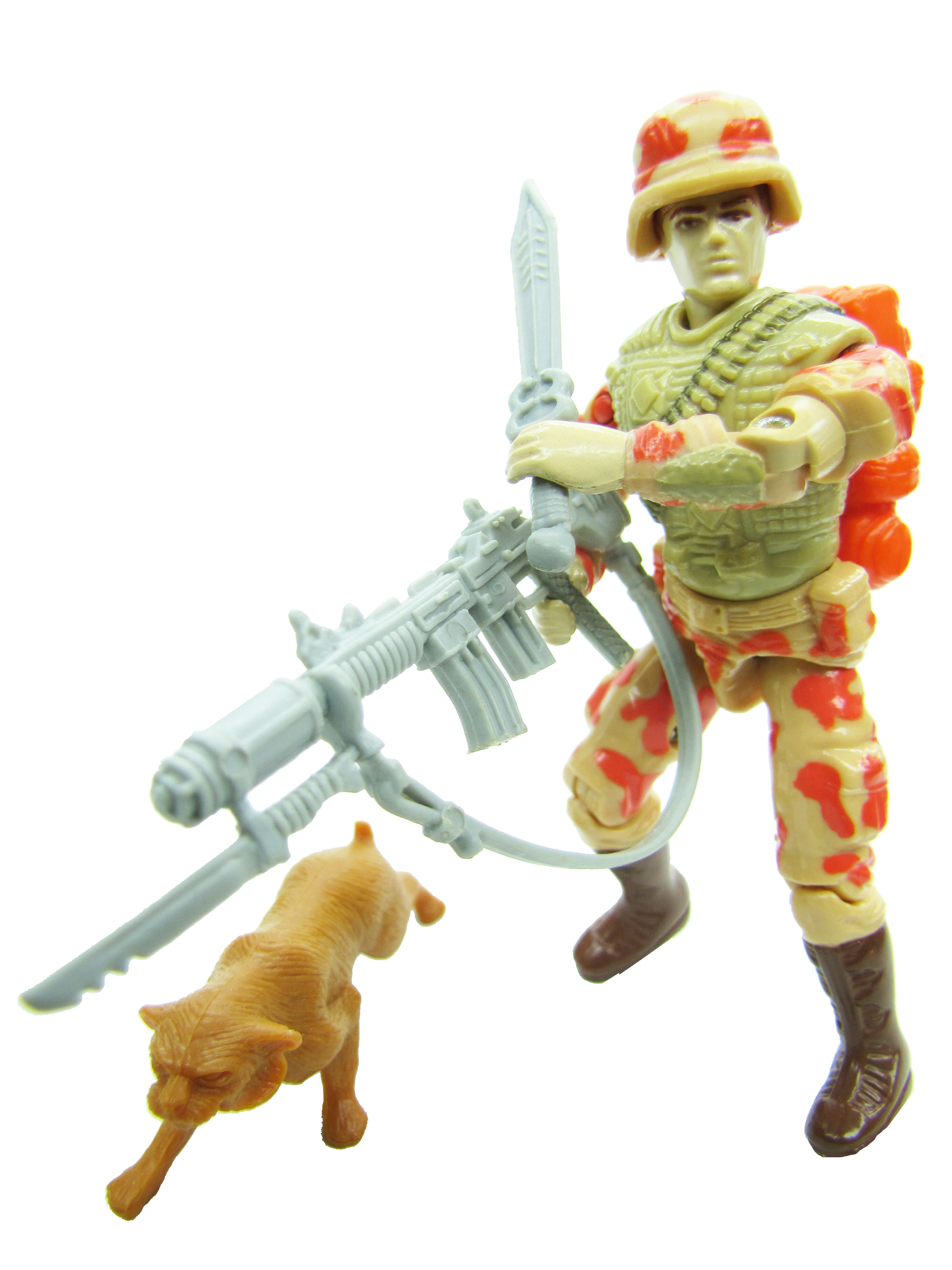 1988 GIJoe SPEARHEAD & MAX POINTMAN AND BOBCAT Complete