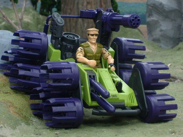 1988 GIJoe Swampmasher Complete