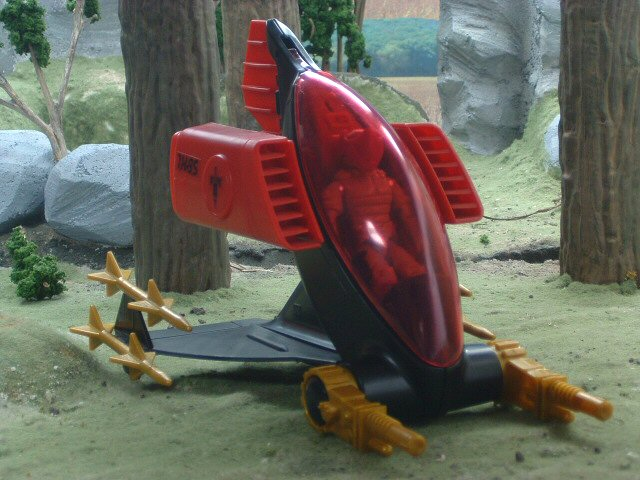 1988 GIJoe Cobra A.G.P. Anti-Gravity Pod with Nullifier Complete