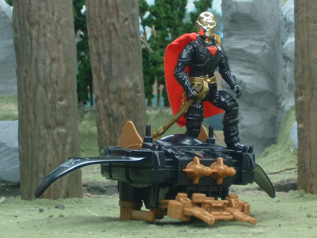 1988 GIJoe Cobra Destro's Despoiler with Destro Complete