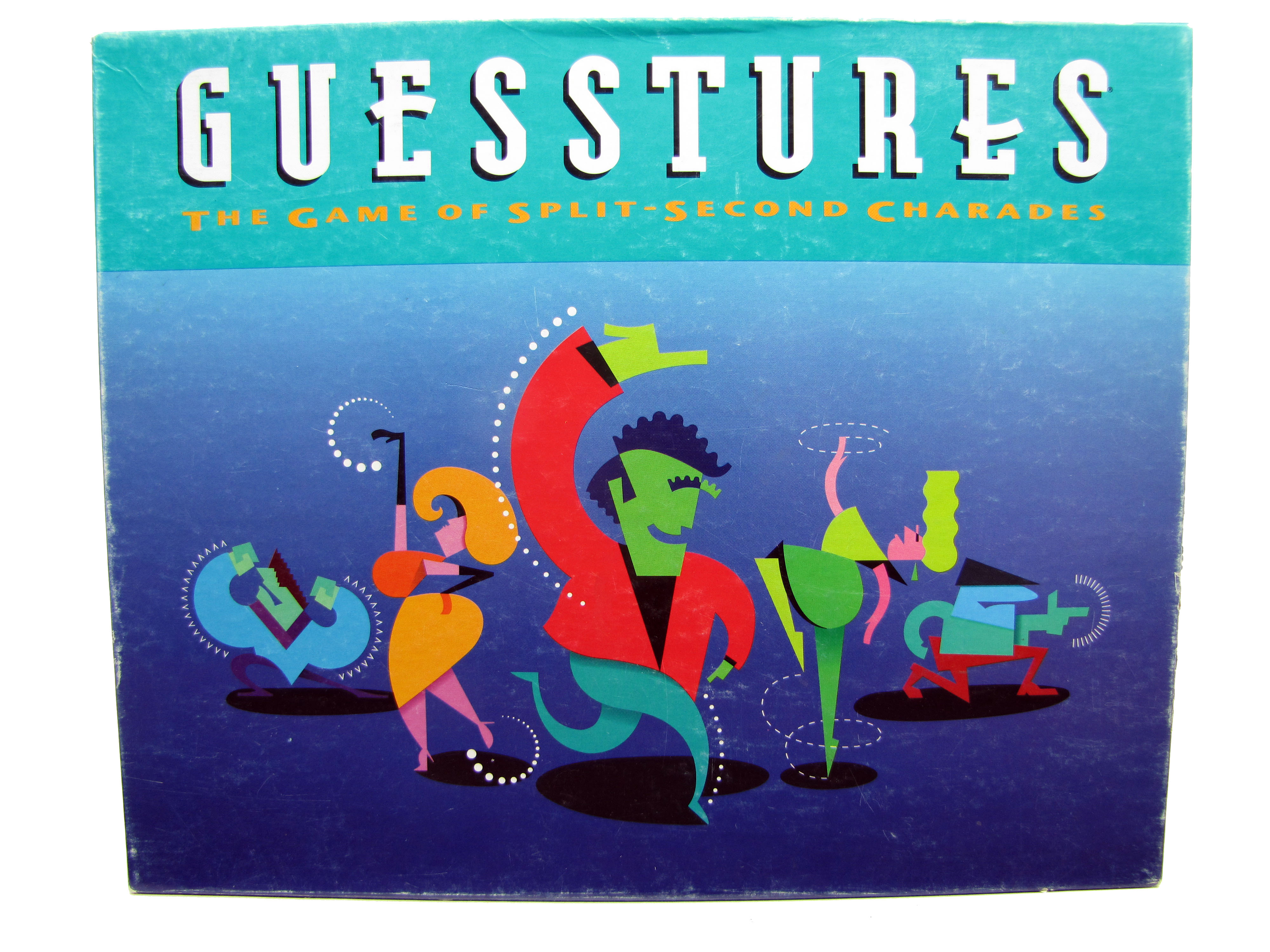 1990 Milton Bradley Guesstures Board Game Complete, My ...