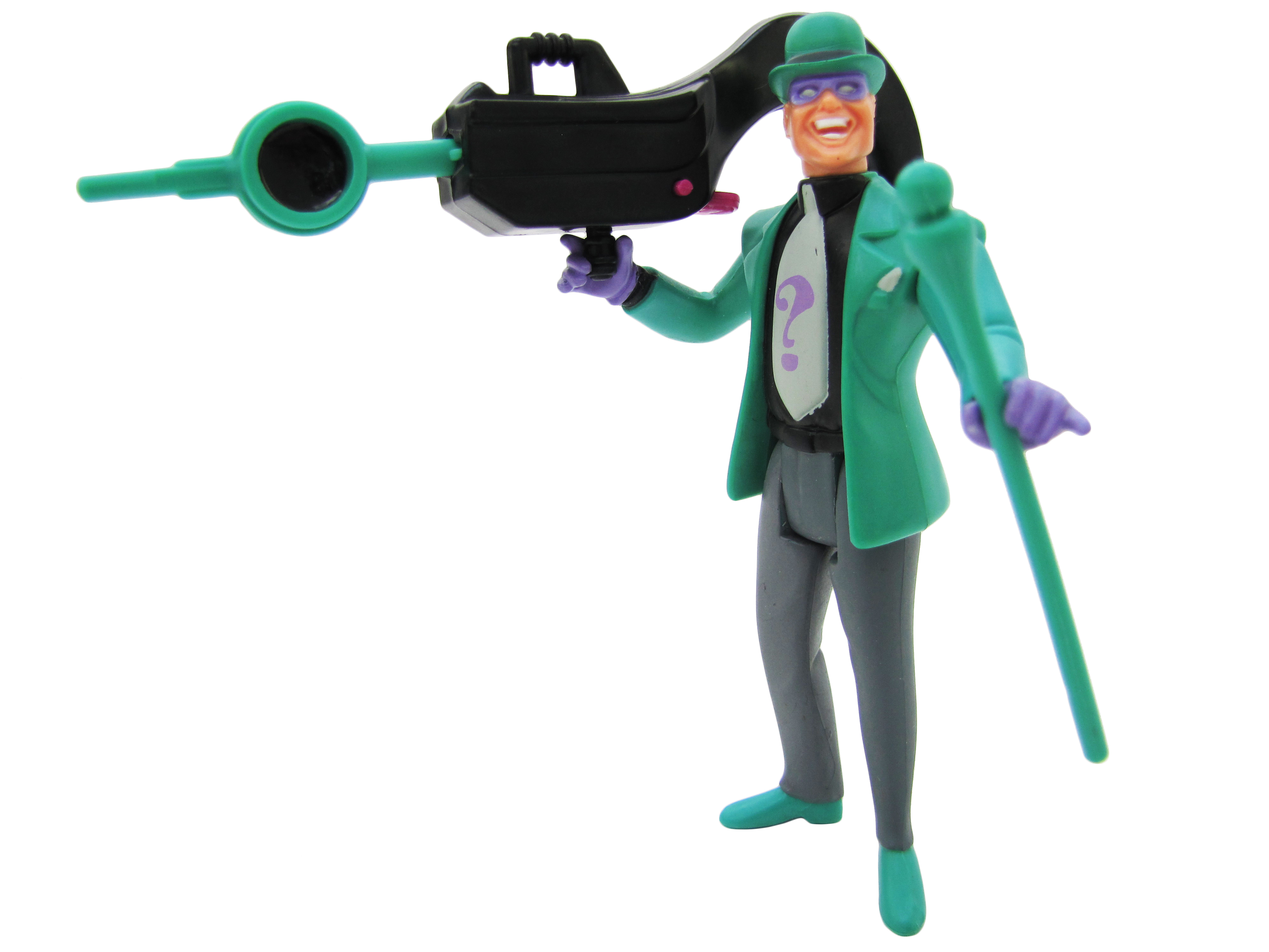 1992 Batman The Animated Series THE RIDDLER Complete Mint