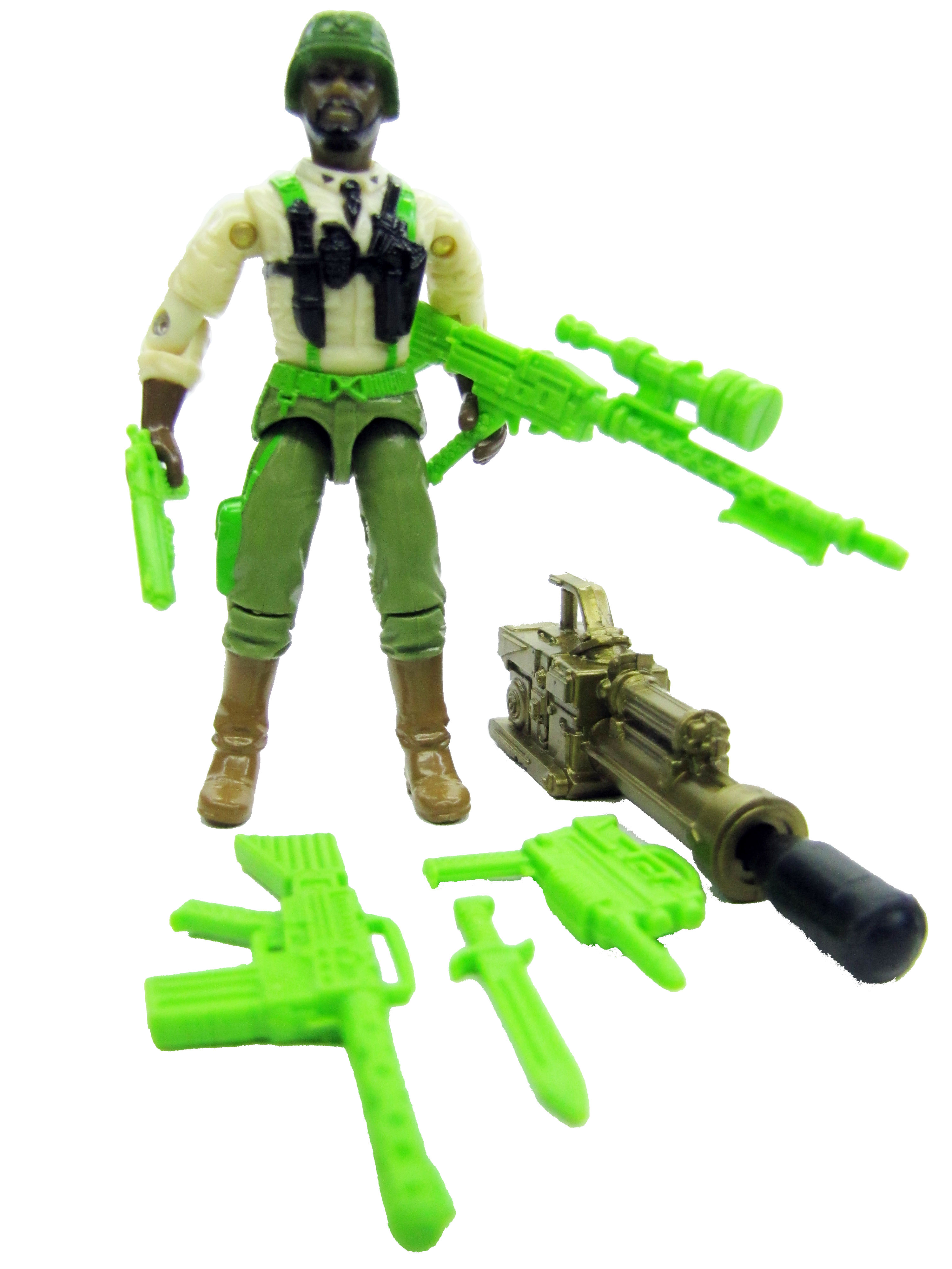 1993 GIJoe Colonel Courage STRATEGIC COMMANDER Complete