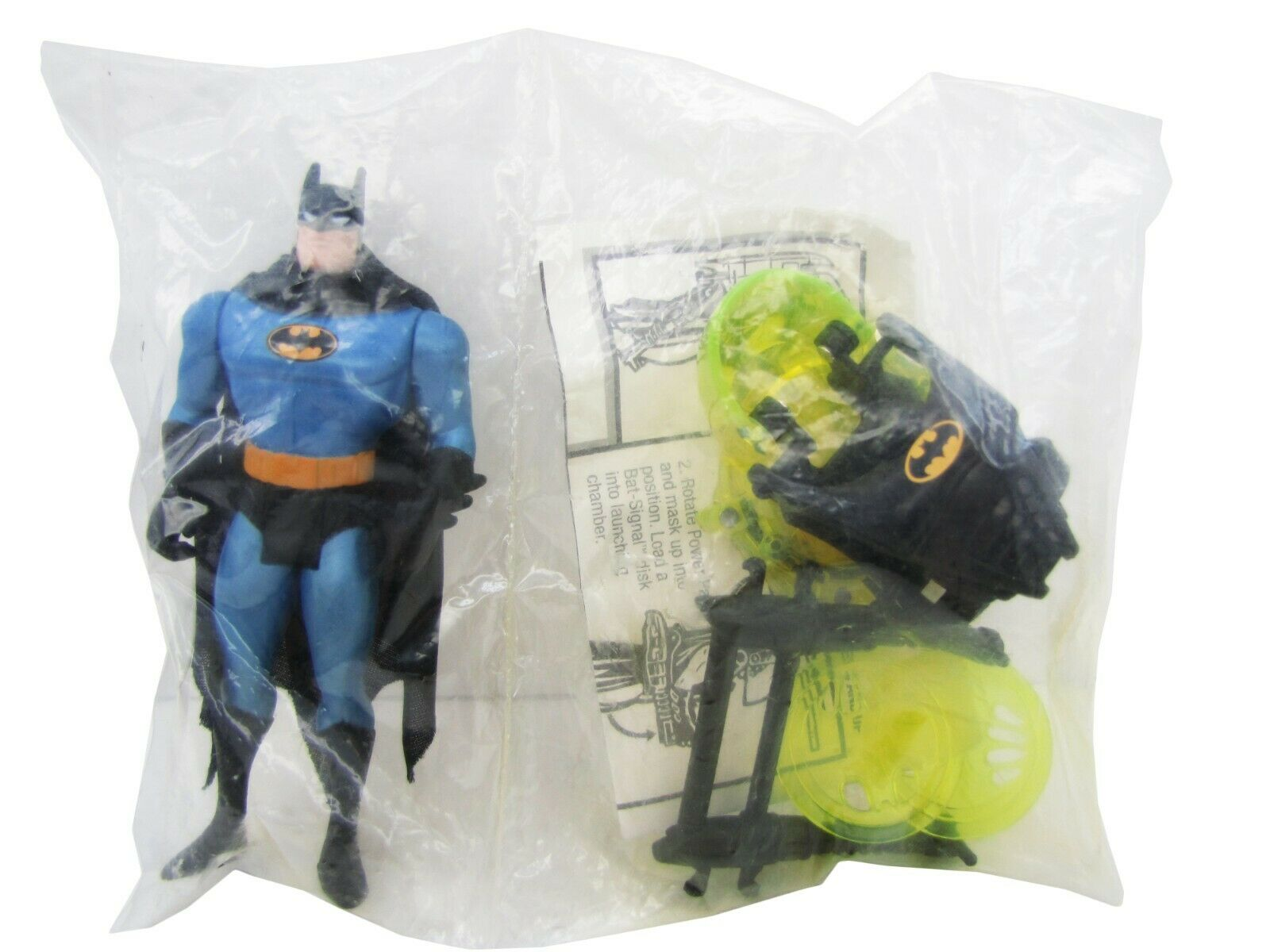 1995 Batman The Animated Series MAIL IN BATTLE HELMET BATMAN Mint Sealed