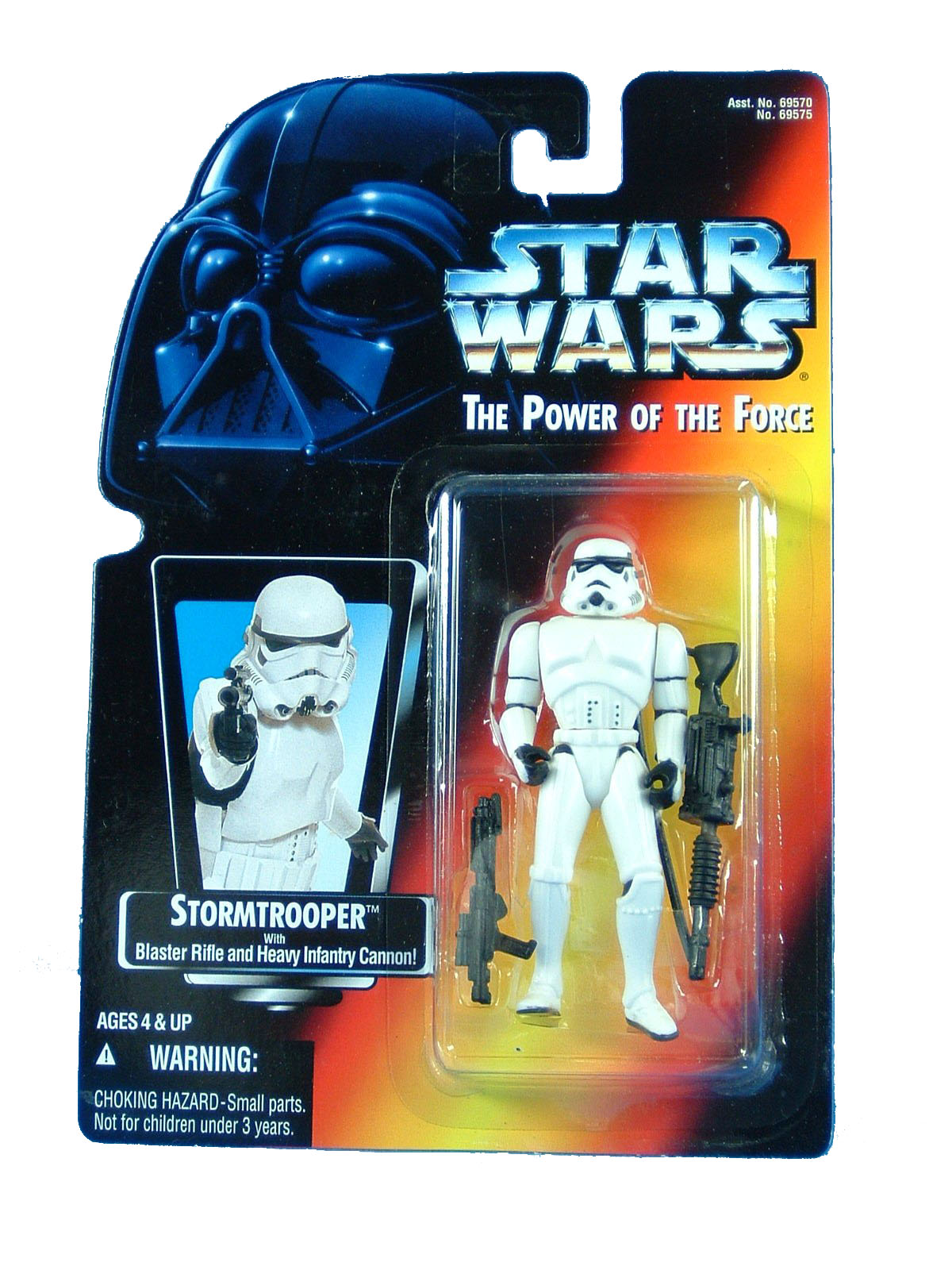 1995 Star Wars POTF2 STORMTROOPER Red Card