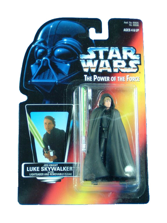 1996 Star Wars POTF2 LUKE SKYWALKER JEDI KNIGHT Complete