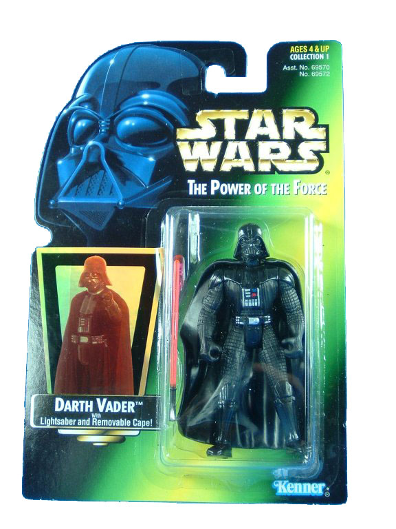 1997 Star Wars POTF2 DARTH VADER Complete
