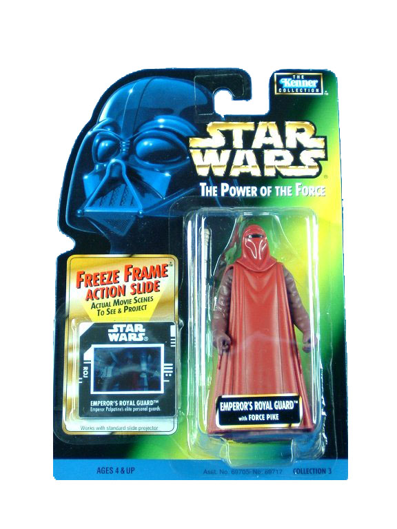 1997 Star Wars POTF2 EMPEROR'S ROYAL GUARD Complete