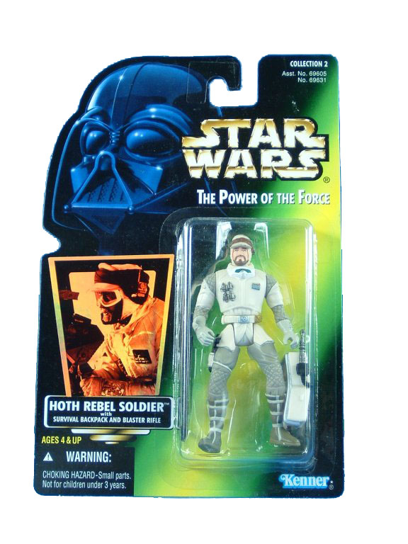 1997 Star Wars POTF2 HOTH REBEL SOLDIER Complete