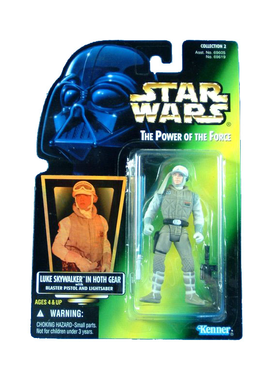 1997 Star Wars POTF2 LUKE SKYWALKER HOTH GEAR Complete