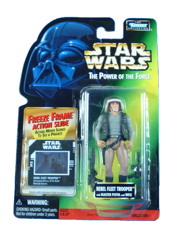1997 Star Wars POTF2 REBEL FLEET TROOPER Complete