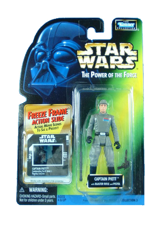 1998 Star Wars POTF2 CAPTAIN PIETT Complete