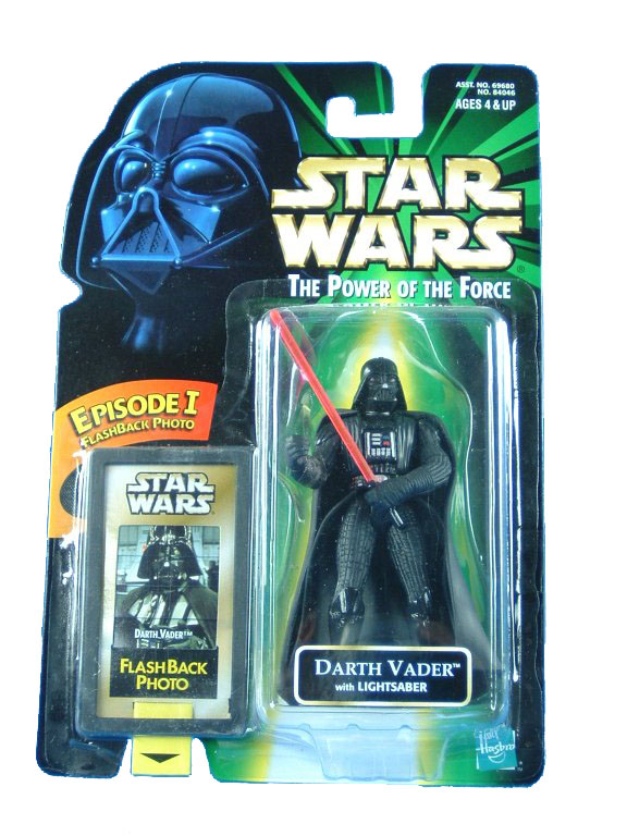 1998 Star Wars POTF2 DARTH VADER Flashback Complete