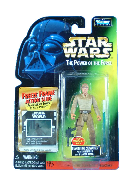 1998 Star Wars POTF2 BESPIN LUKE SKYWALKER Complete