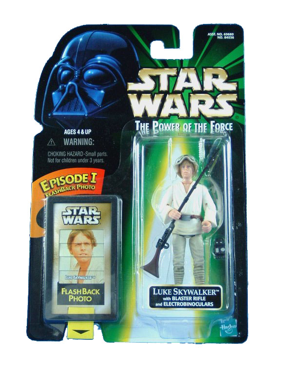 1998 Star Wars POTF2 LUKE SKYWALKER Complete