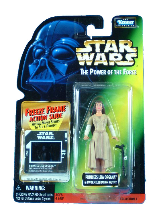 1998 Star Wars POTF2 PRINCESS LEIA ORGANA EWOK CELEBRATION