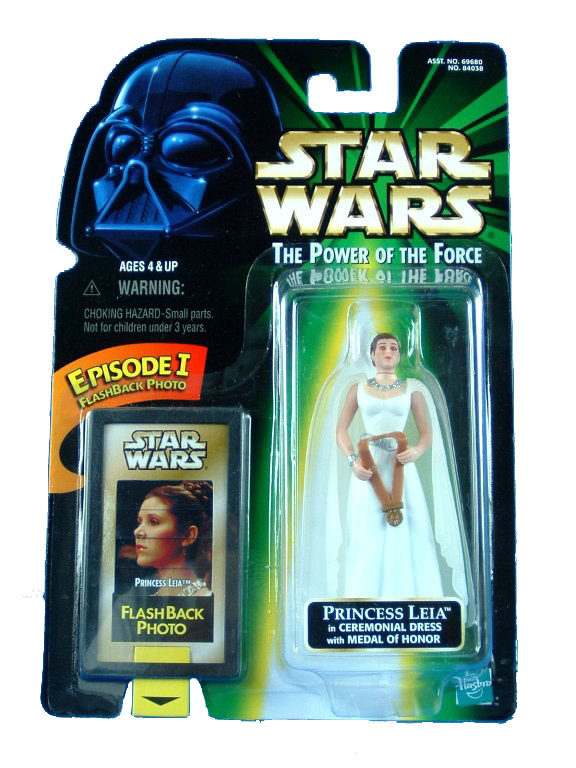 1998 Star Wars POTF2 PRINCESS LEIA CEREMONIAL DRESS Complete