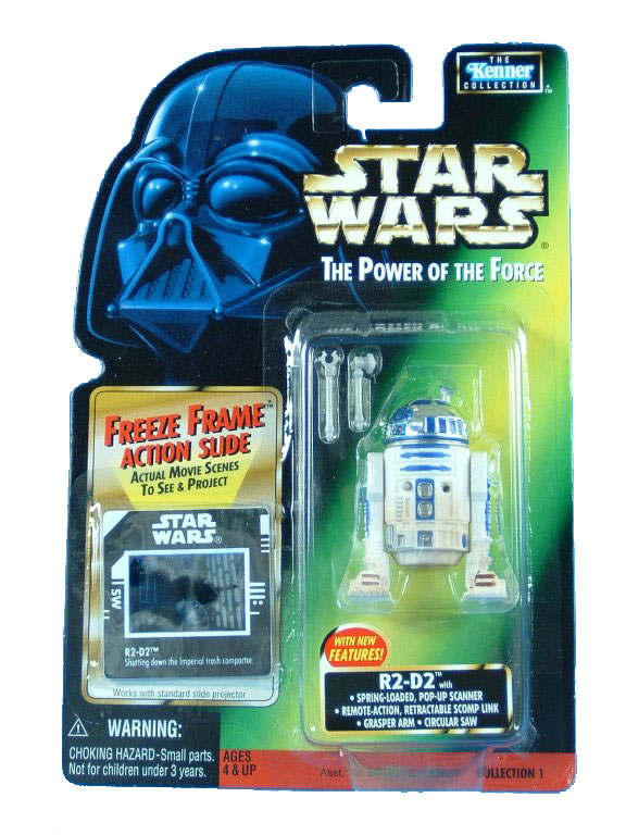 1998 Star Wars POTF2 R2-D2 WITH NEW FEATURES Complete