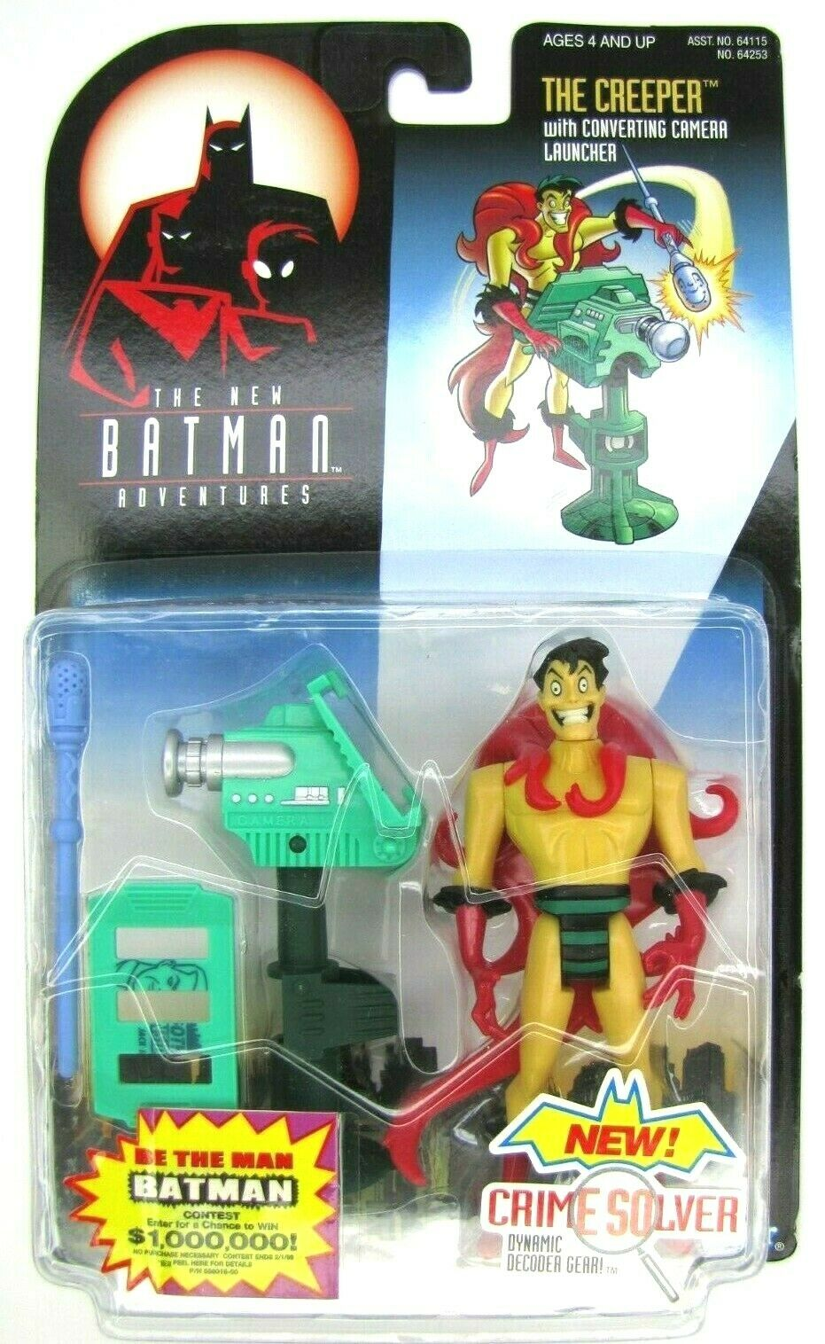 1998 The New Batman Adventures THE CREEPER Mint on Card NEW