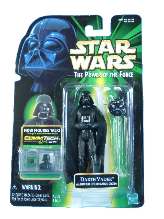 1999 Star Wars POTF2 DARTH VADER INTERROGATION DROID Complete