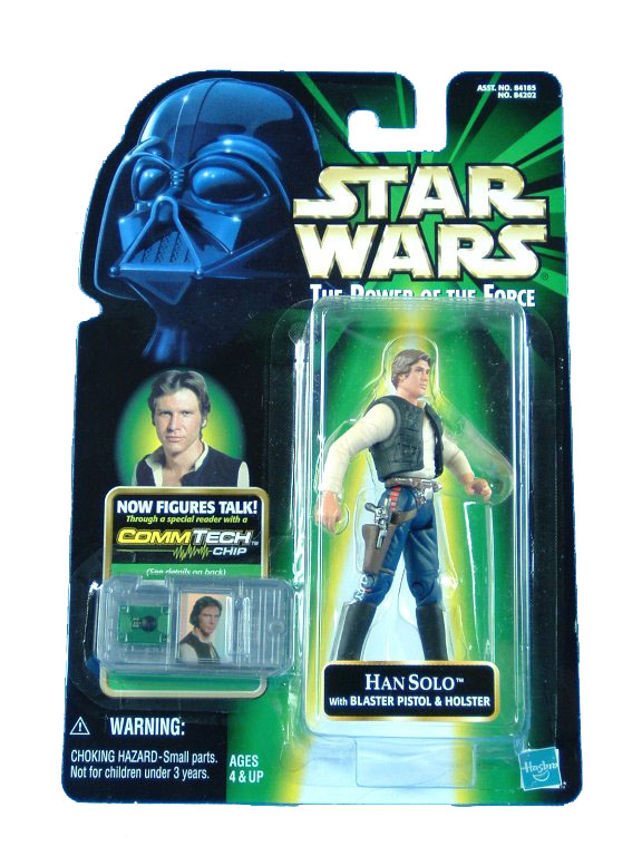 1999 Star Wars POTF2 HAN SOLO CANTINA Complete