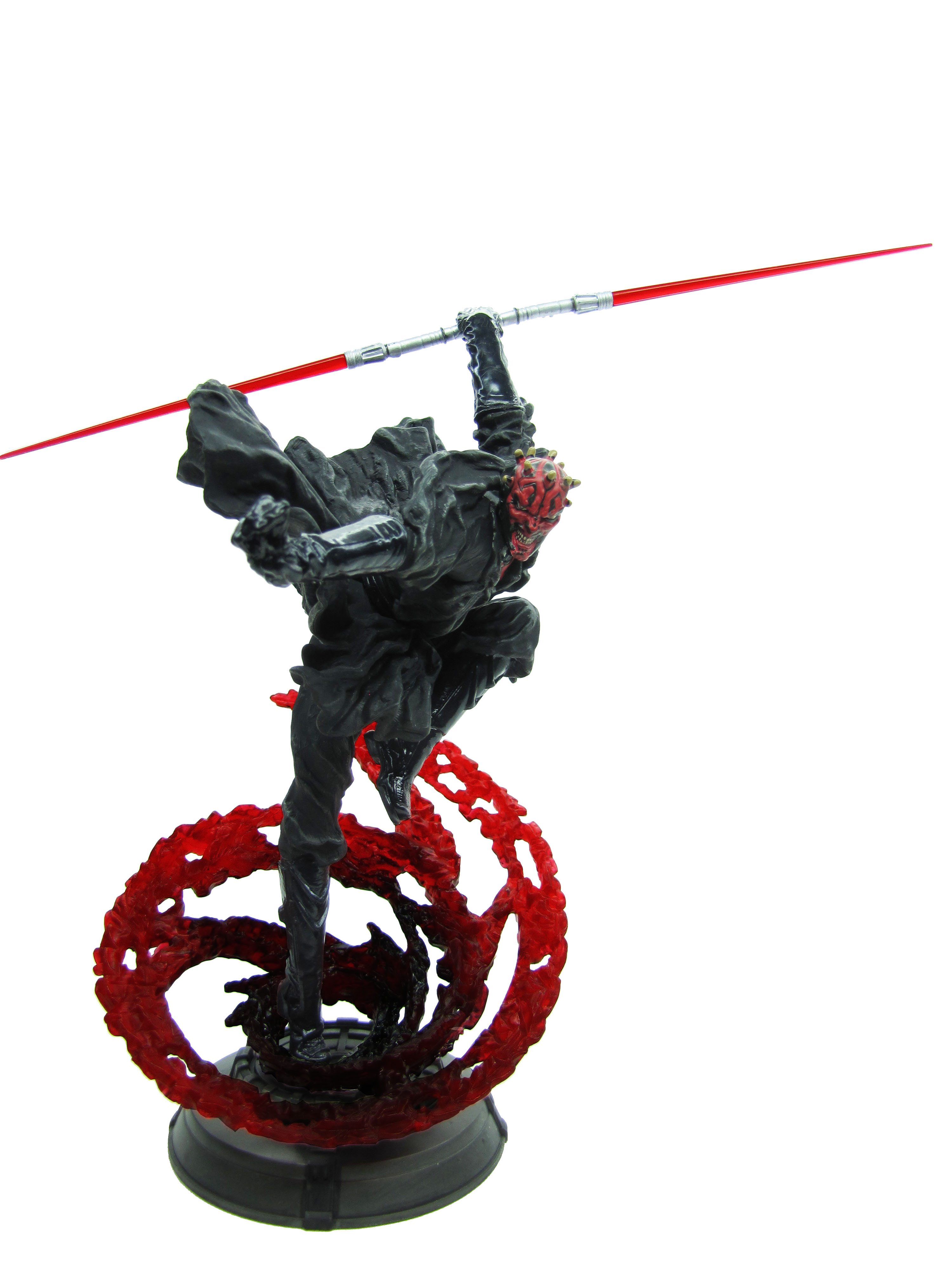 2002 Star Wars Unleashed DARTH MAUL Complete