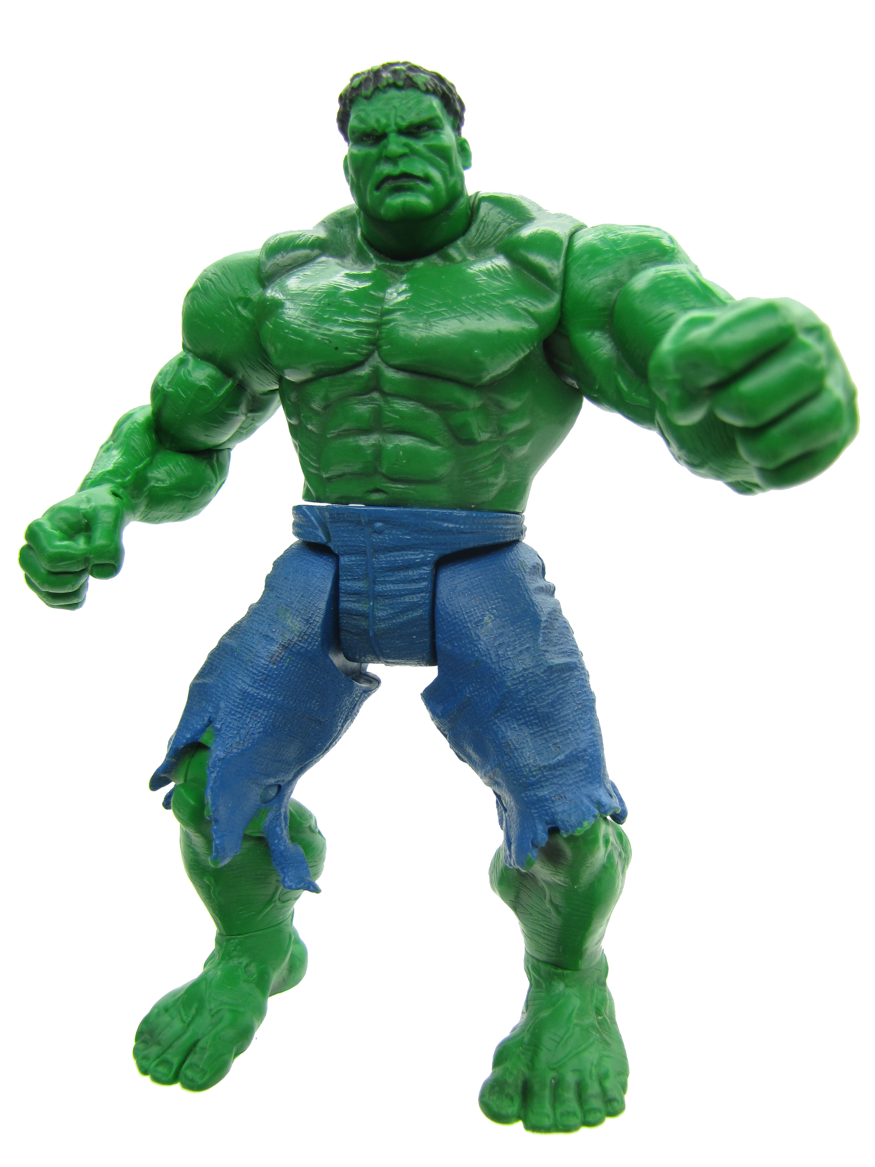 2002 The Incredible Hulk Punching Hulk