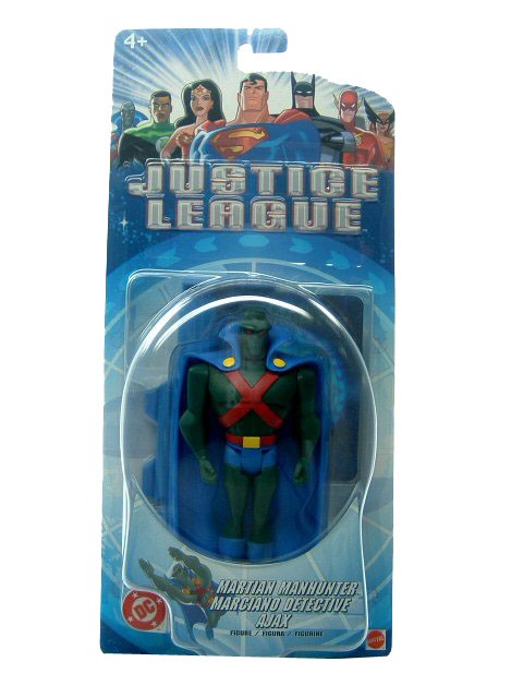 Justice League Martian Manhunter Sealed Mint on Card