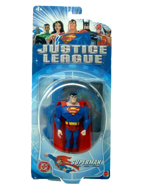 2004 Justice League Unlimited SUPERMAN Mint on Card