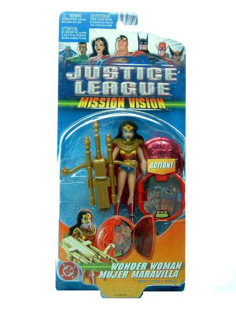 Justice League Wonder Woman Mission Vision Sealed Mint on Card