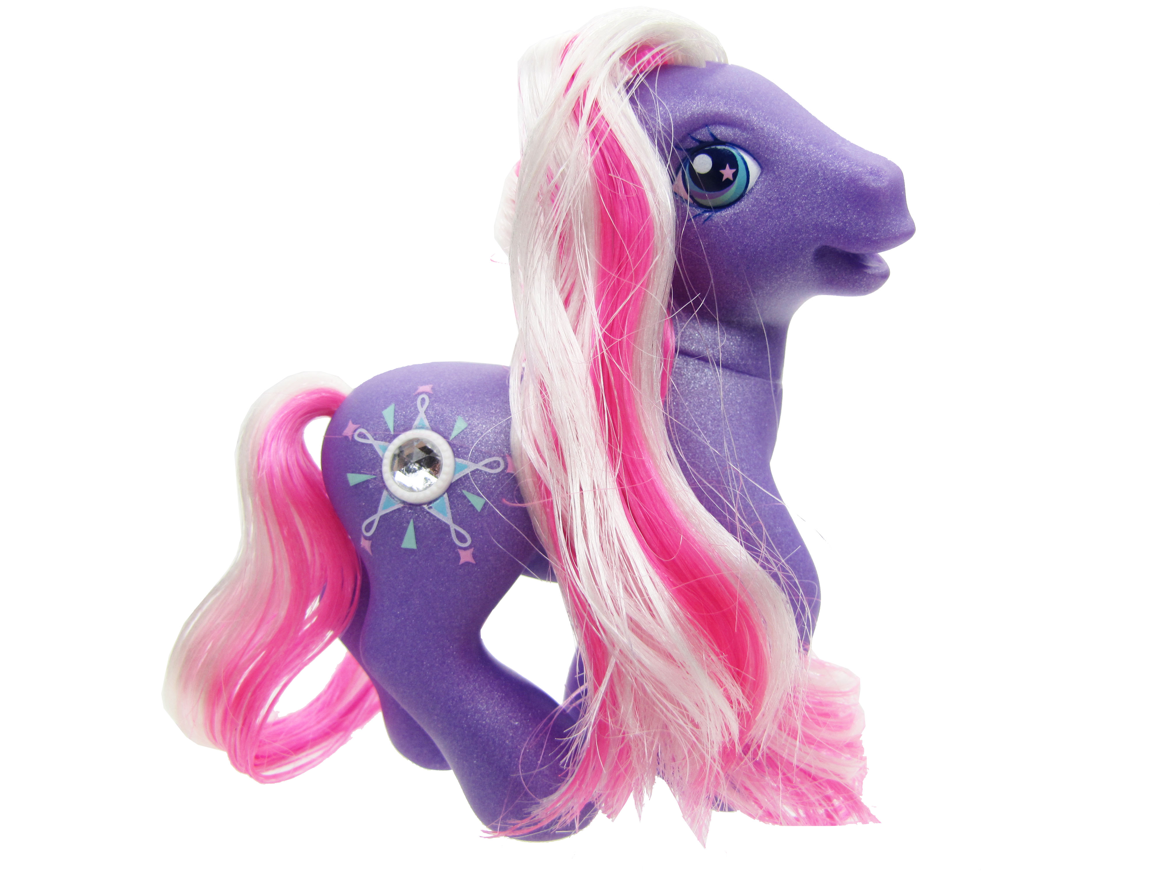 2003 My Little Pony Friendship Ball Jewel Pony Star Dasher