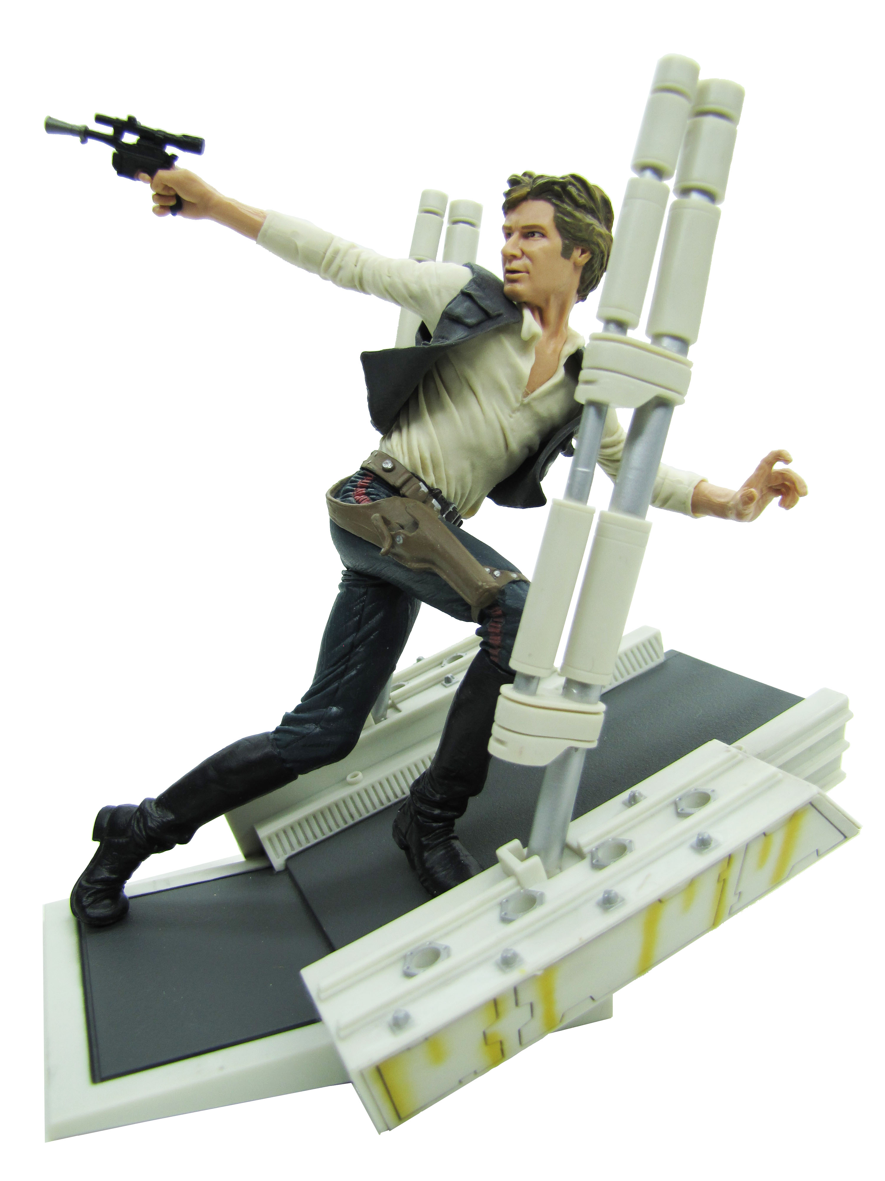 2003 Star Wars Unleashed HAN SOLO Complete