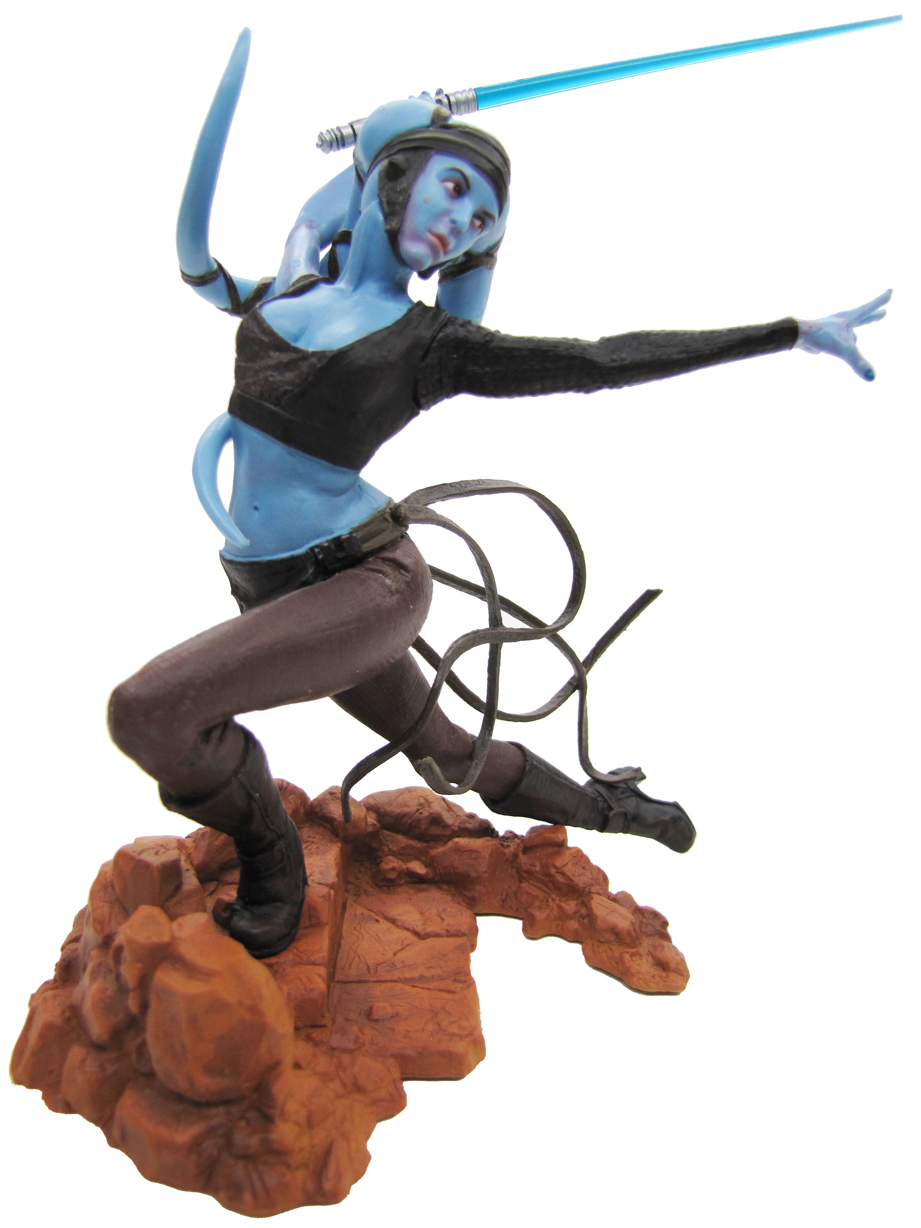 2004 Star Wars Unleashed AAYLA SECURA Complete
