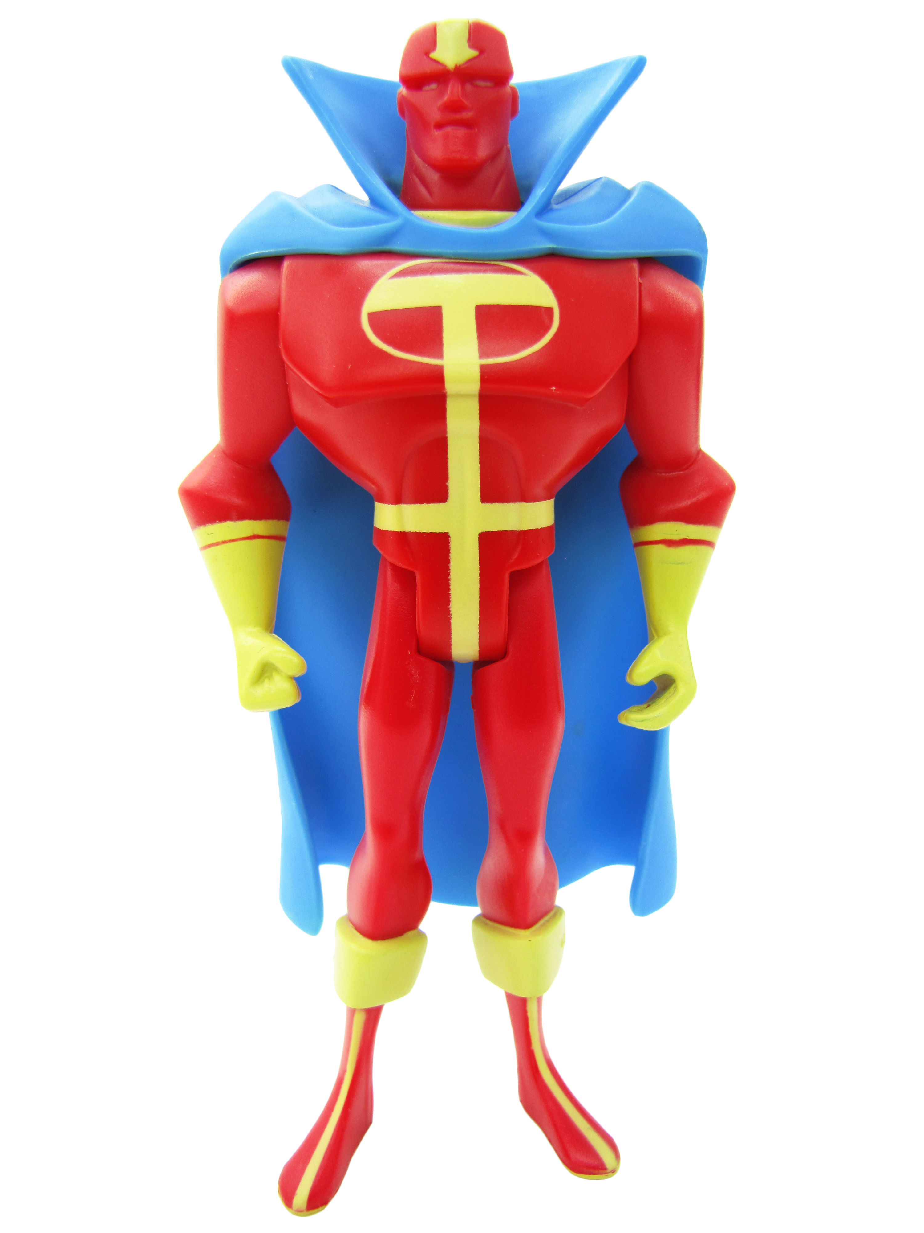 2005 Justice League Unlimited SINGLE PACK RED TORNADO Mint