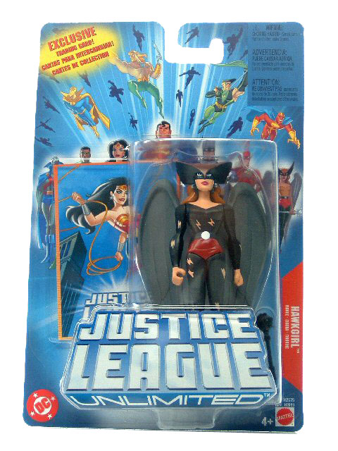Justice League Unlimited Hawkgirl Sealed Mint on Card