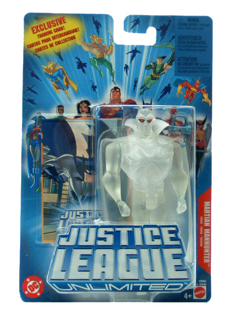 Justice League Unlimited Martian Manhunter Invisible Sealed Mint