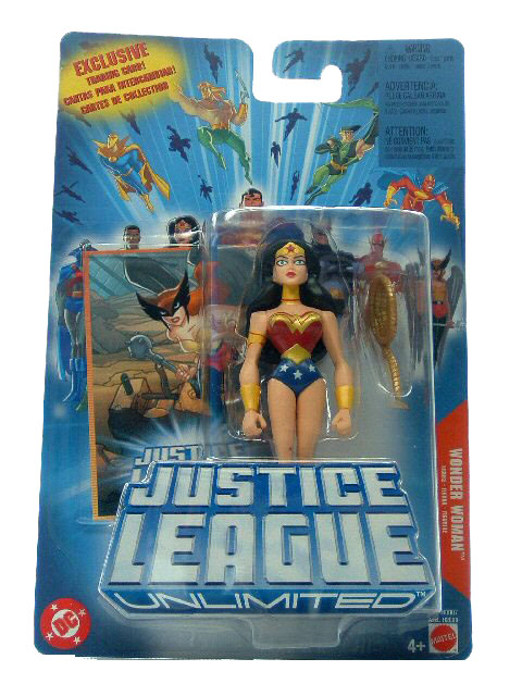 Justice League Unlimited Wonder Woman Sealed Mint on Card