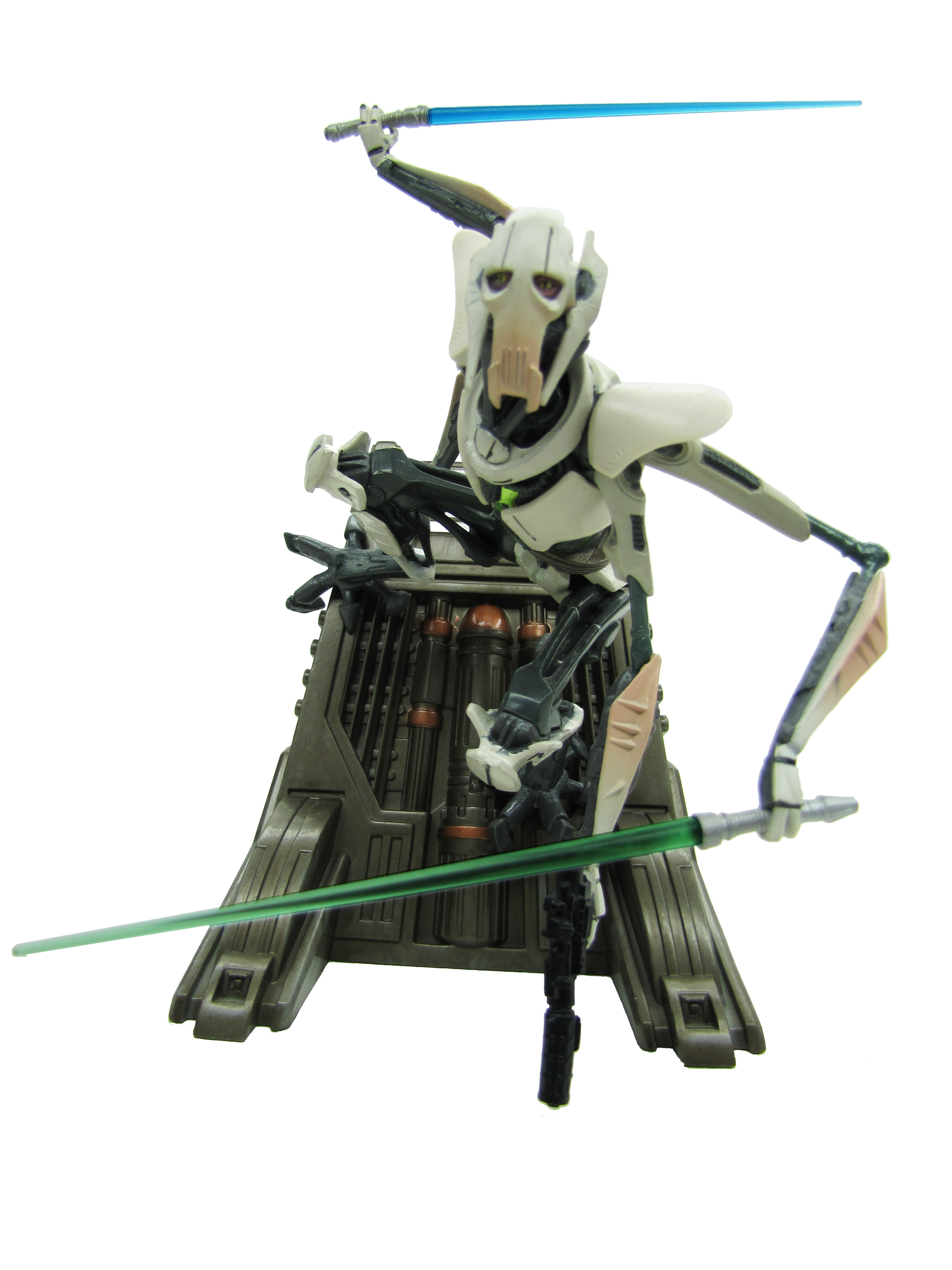 2005 Star Wars Unleashed GENERAL GRIEVOUS Complete