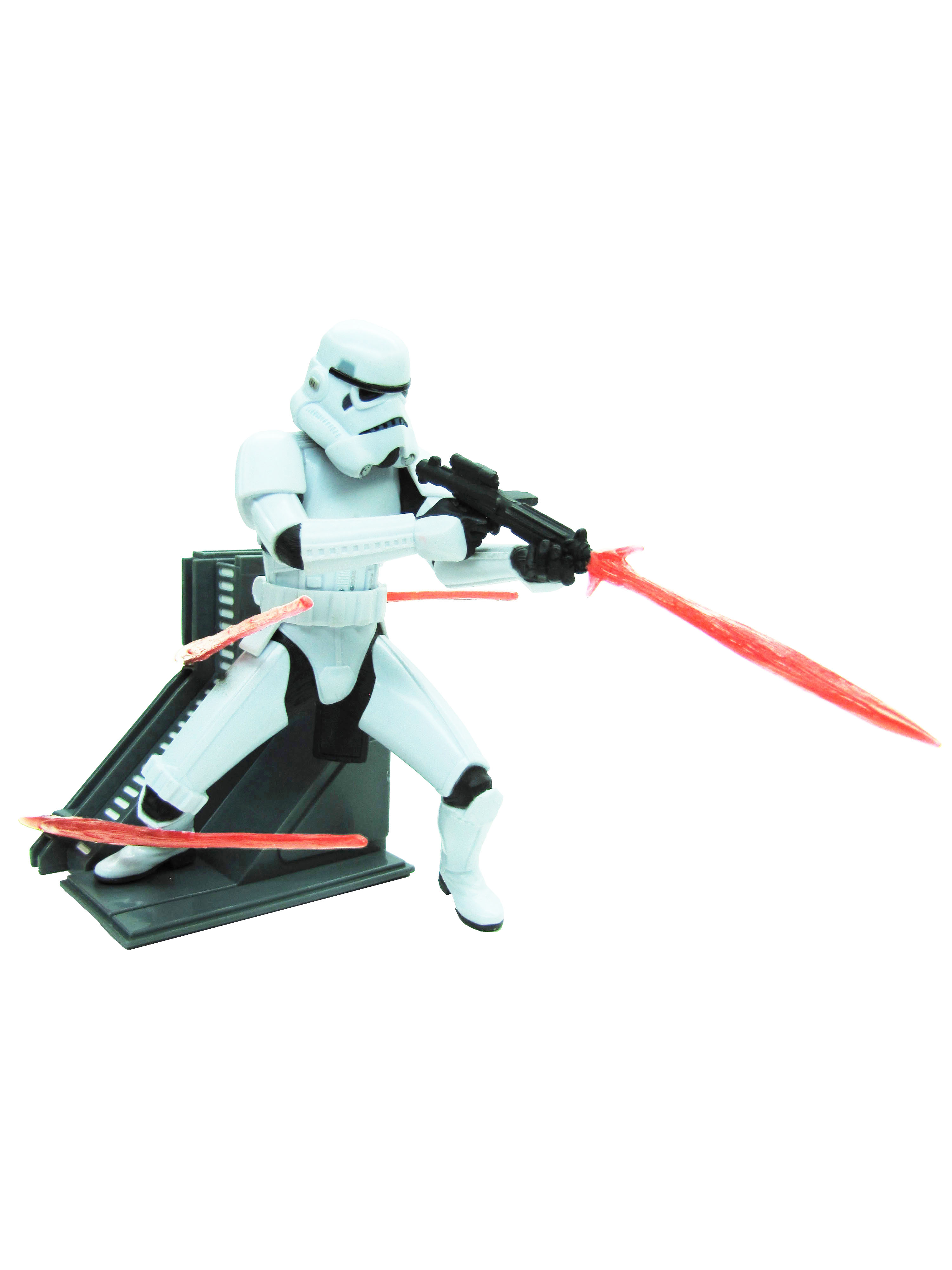 2005 Star Wars Unleashed STORMTROOPER Complete