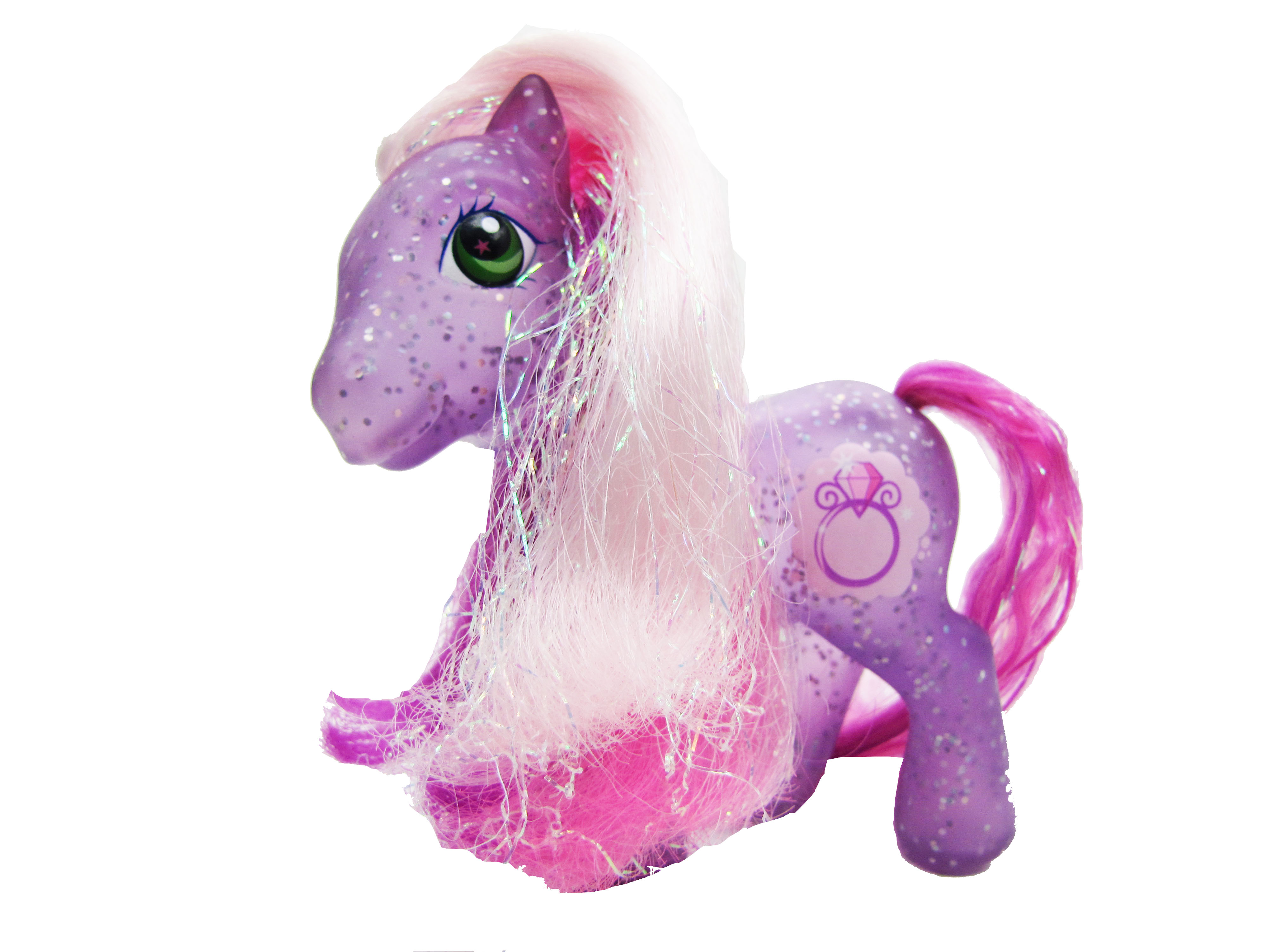 2006 My Little Pony Glitterbelle Complete