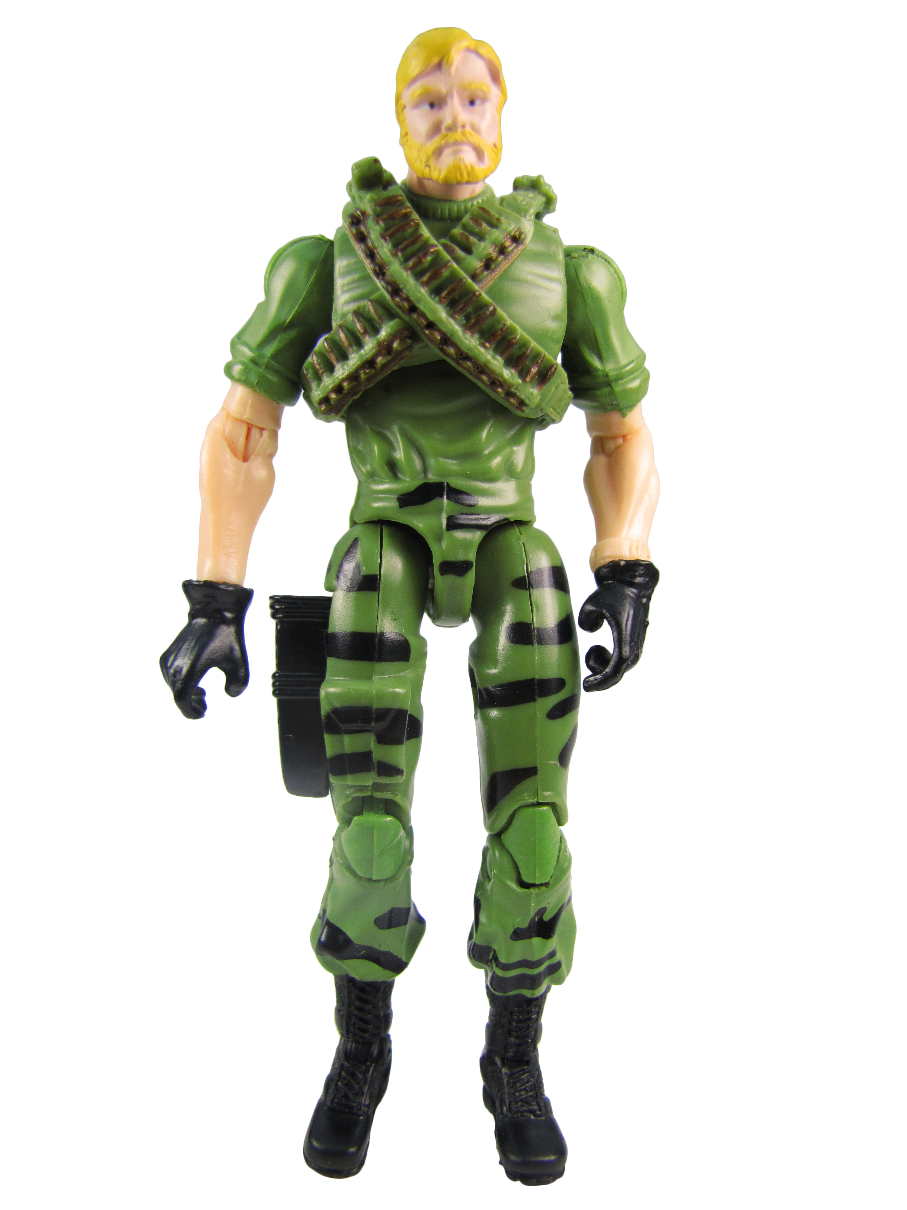 2008 GIJoe 25th Anniversary Comic Pack SSGT ROCK N ROLL GUNNER