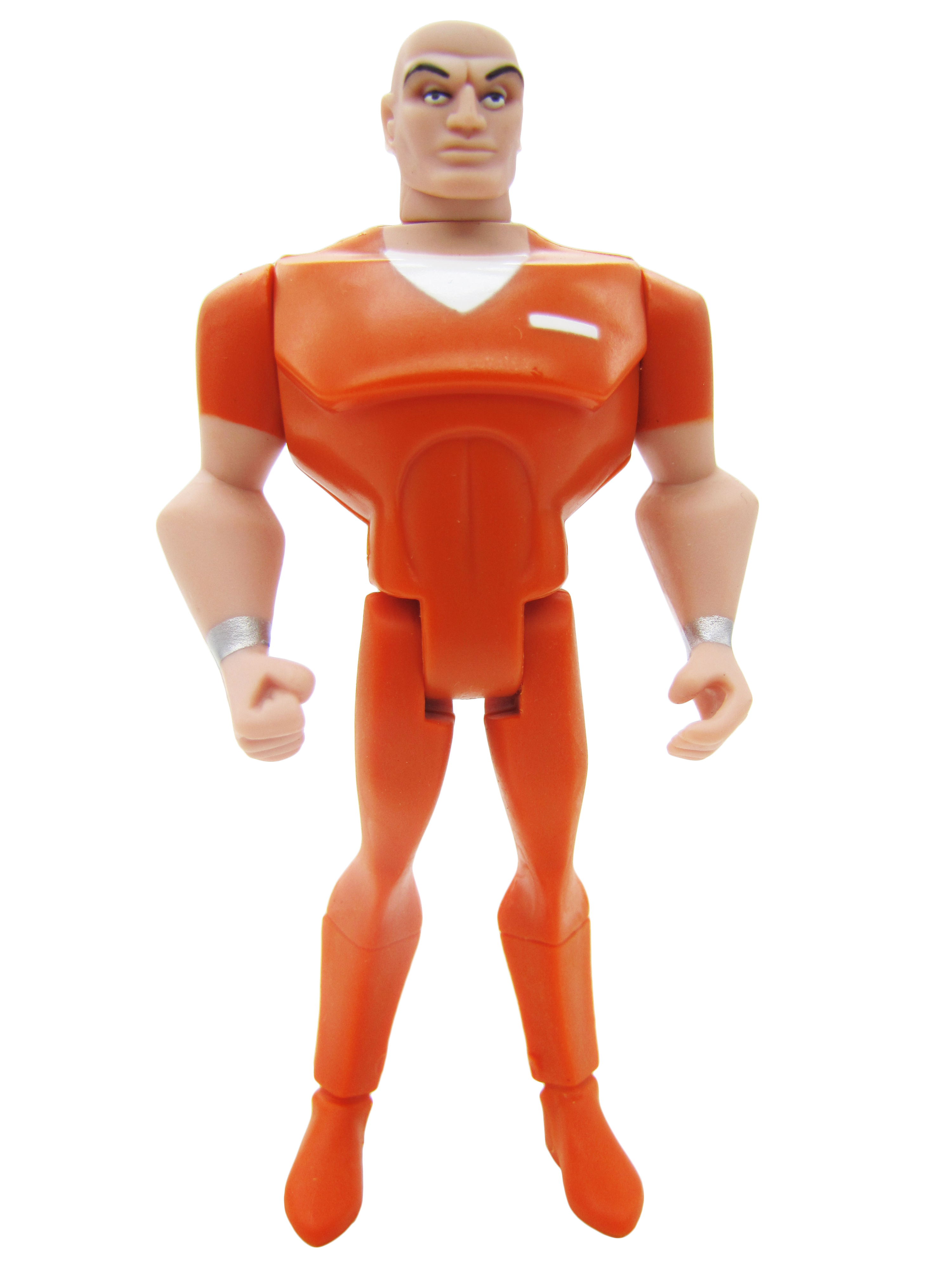 2008 Justice League Unlimited CHEETAH 3 PACK LEX LUTHOR ORANGE JUMPSUIT Mint