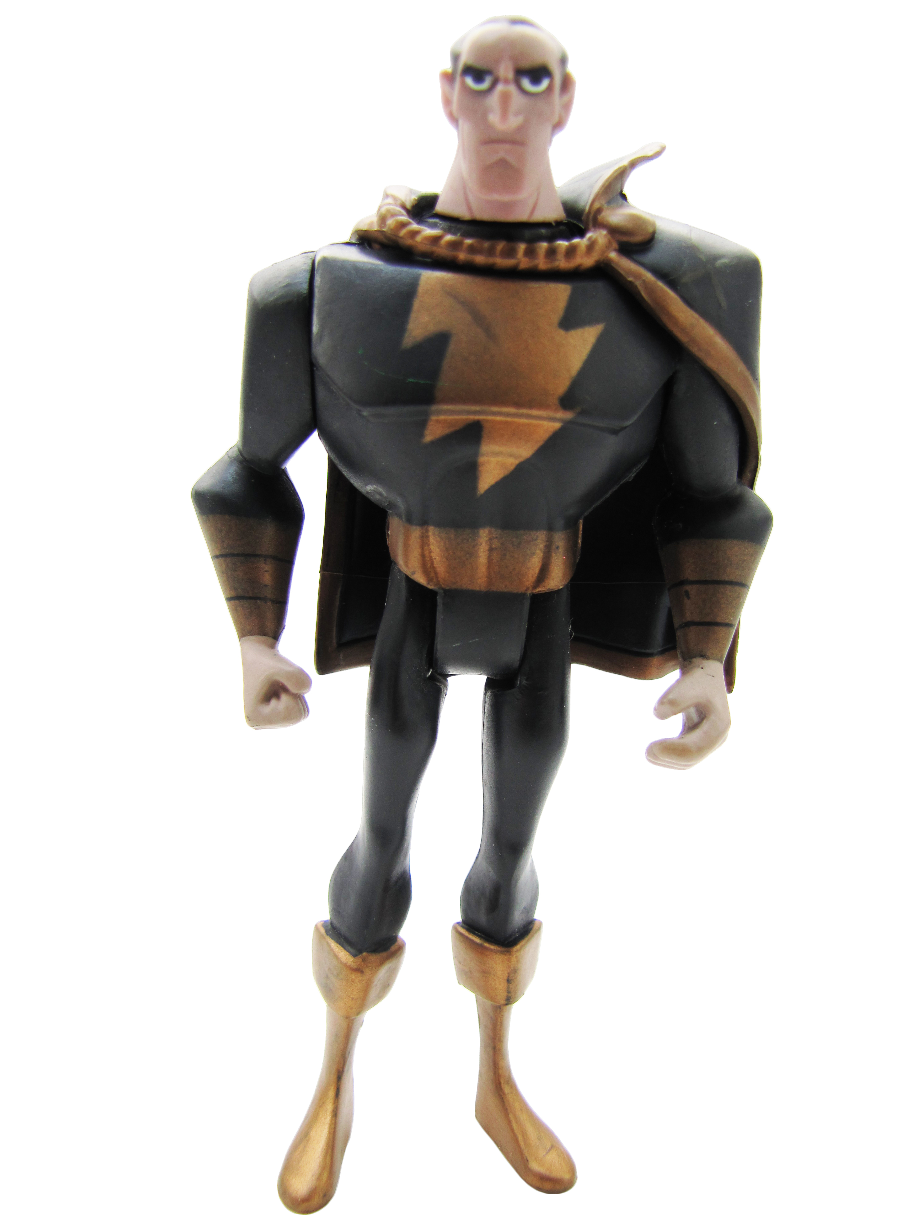 2008 Justice League Unlimited MATTY COLLECTOR SHAZAM FAMILY BLACK ADAM Mint
