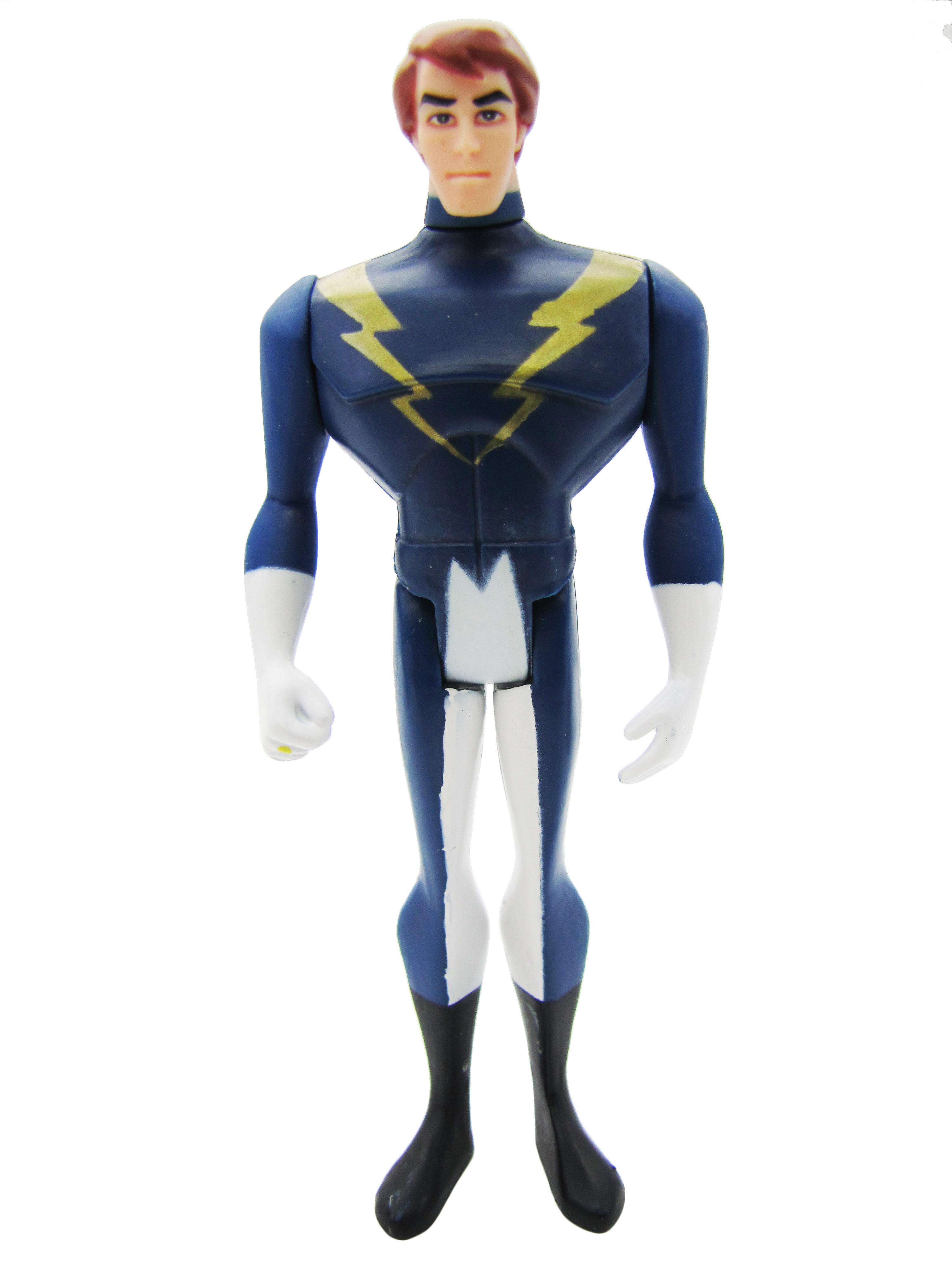 2008 Justice League Unlimited MATTY COLLECTOR LEGIONS SUPERHEROES LIGHTNING LAD