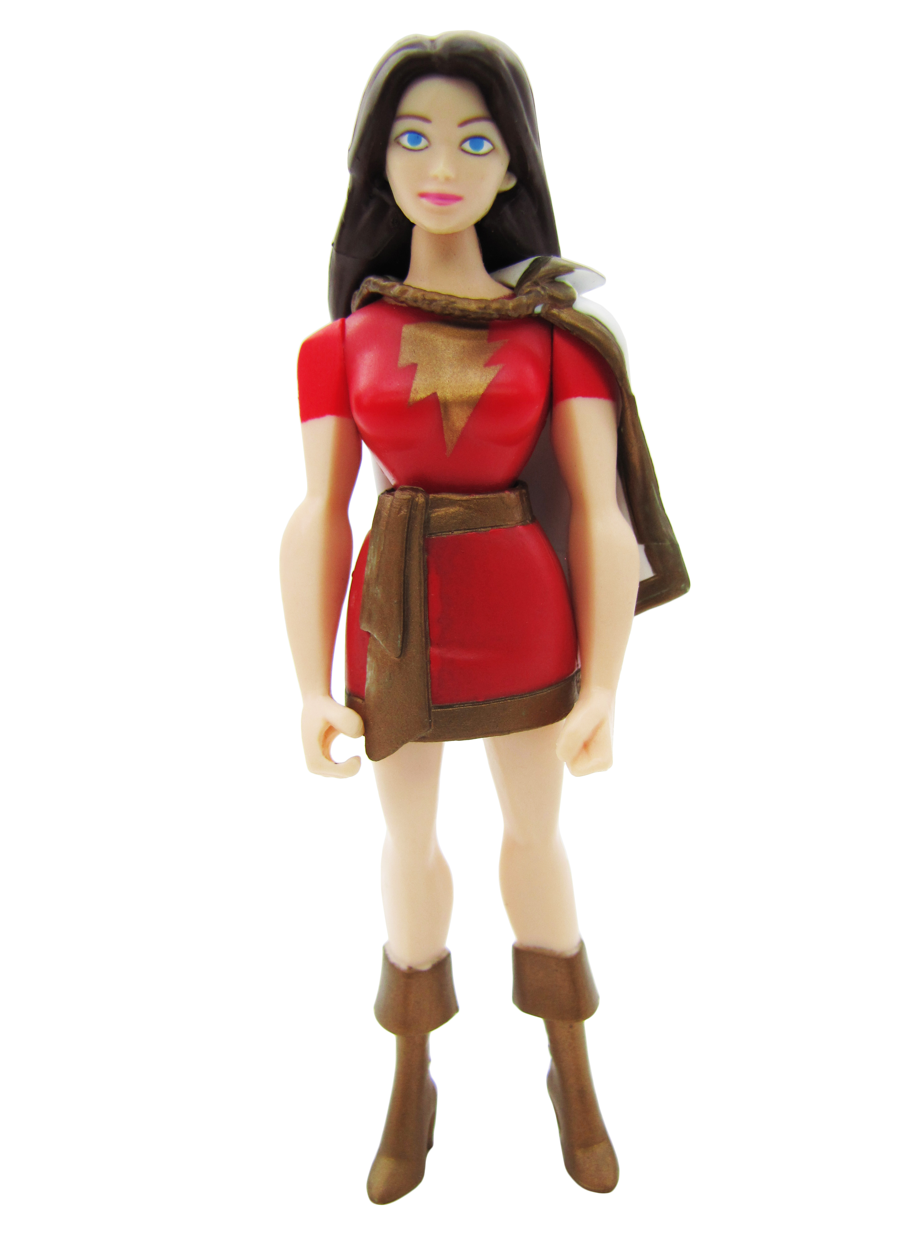 2008 Justice League Unlimited MATTY COLLECTOR SHAZAM FAMILY MARY MARVEL Mint