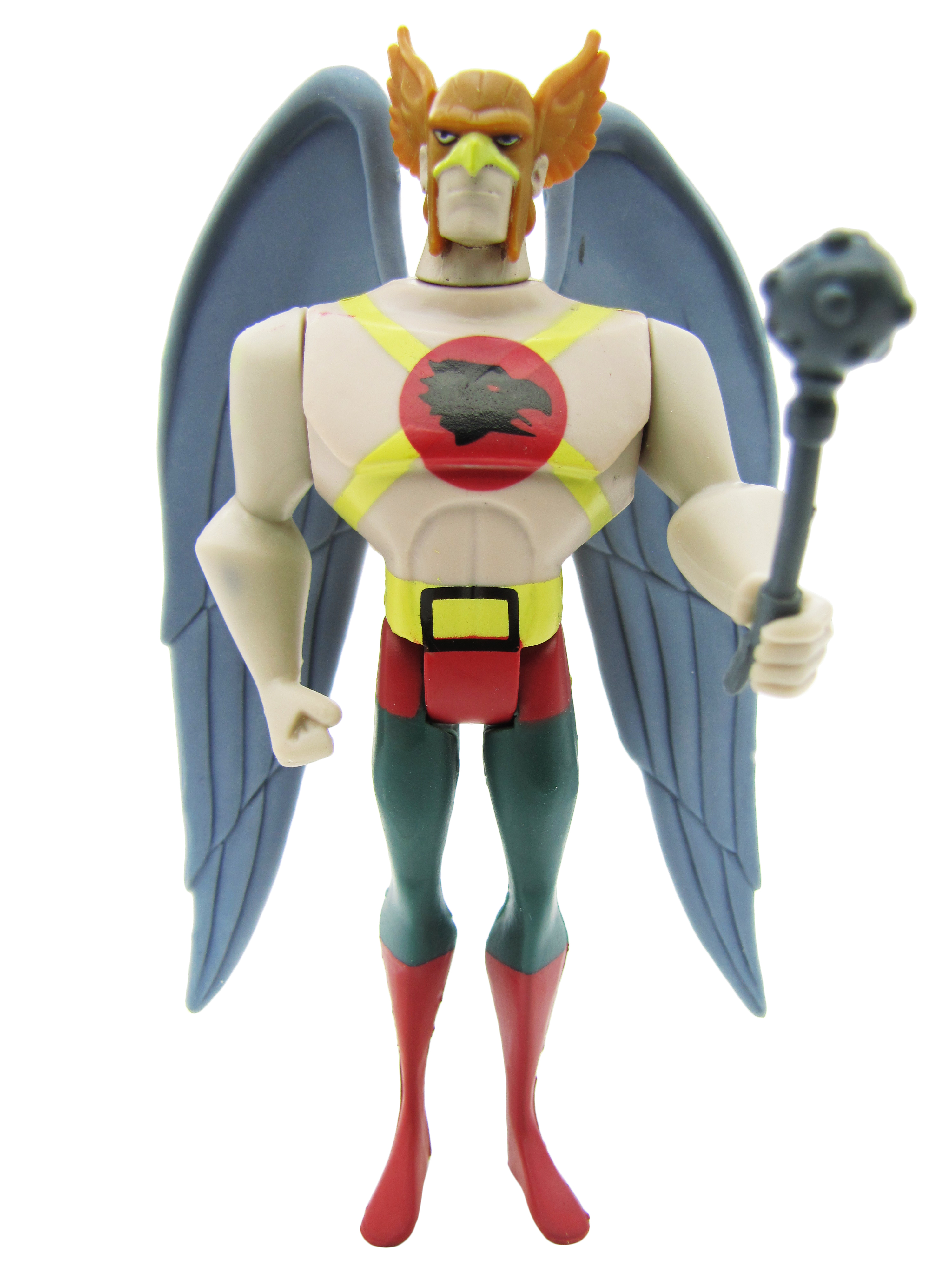 2008 Justice League Unlimited SINGLE PACK HAWKMAN Complete Mint