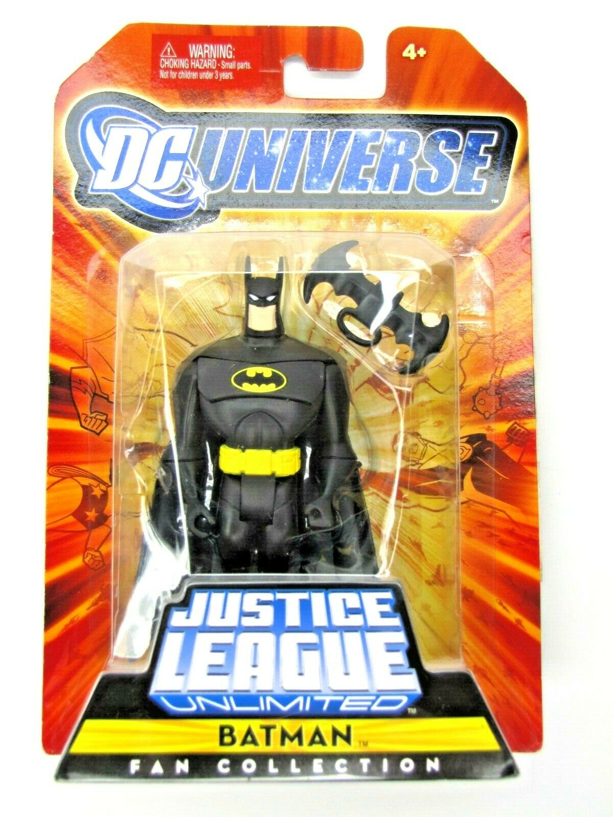 2008 Justice League Unlimited BATMAN Mint on Card Sealed NEW