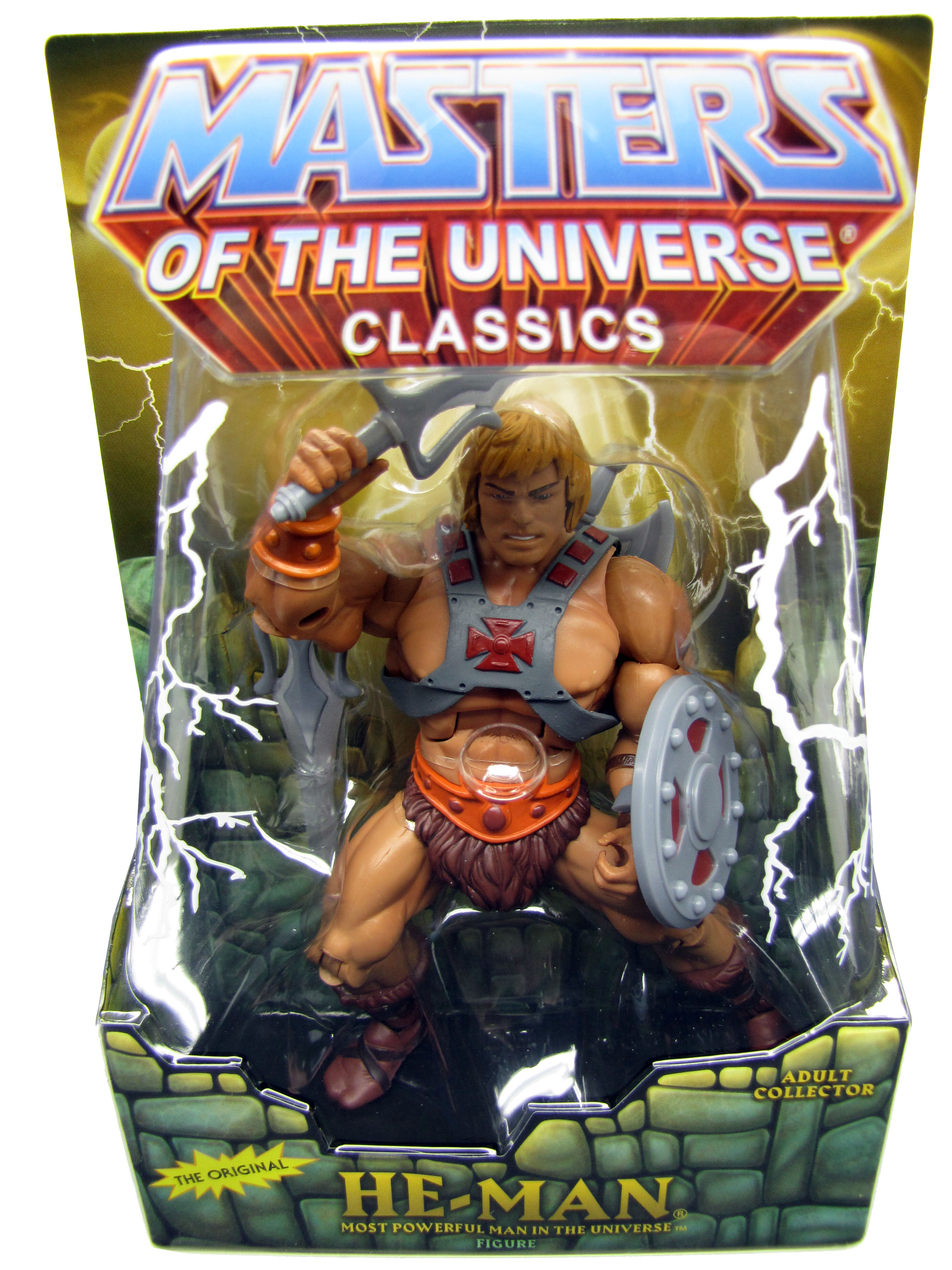 2008 Masters of the Universe Classics He-Man Sealed Mint on Card