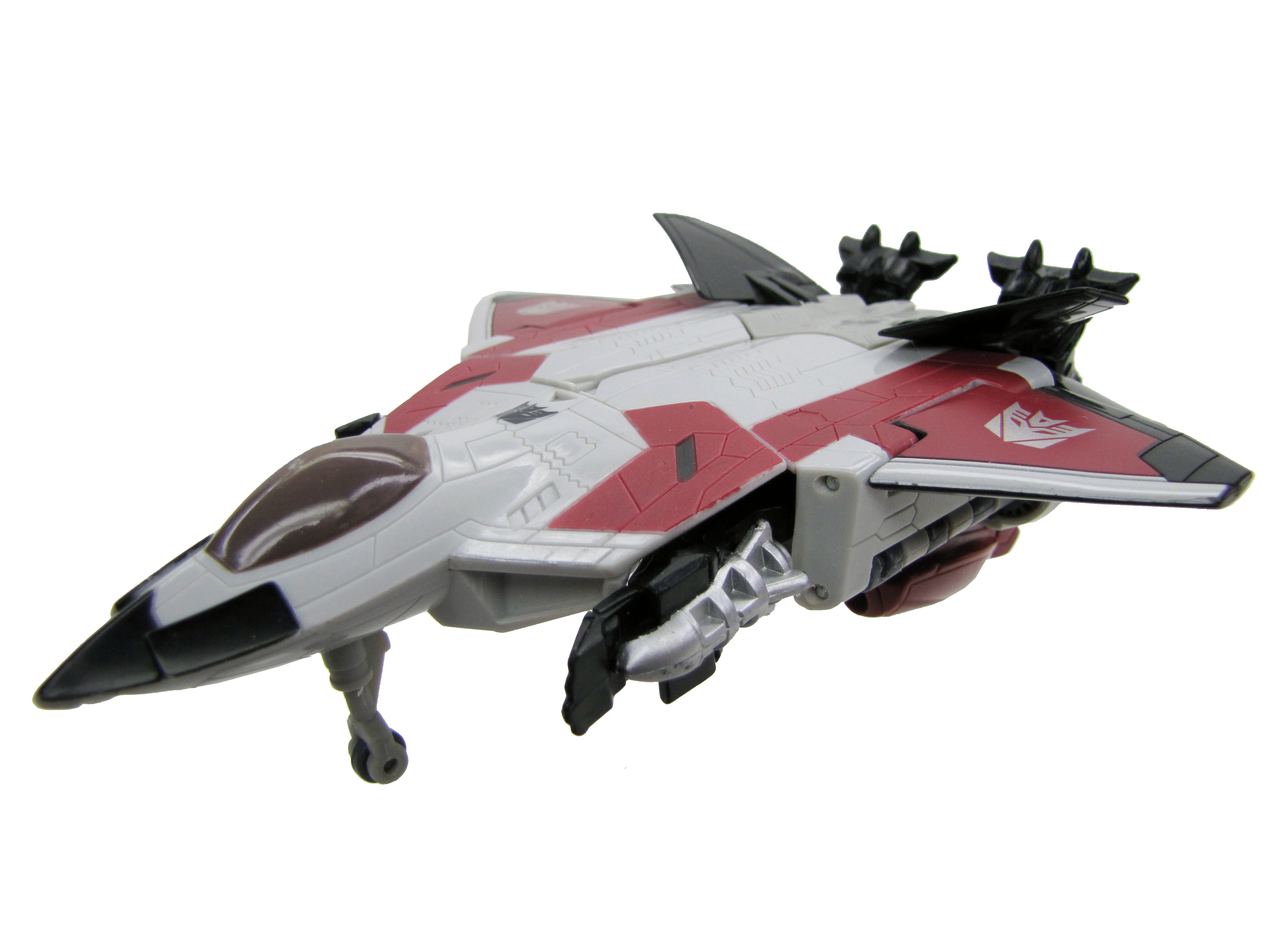 2008 Transformers Movie Ramjet Claw Slash Complete
